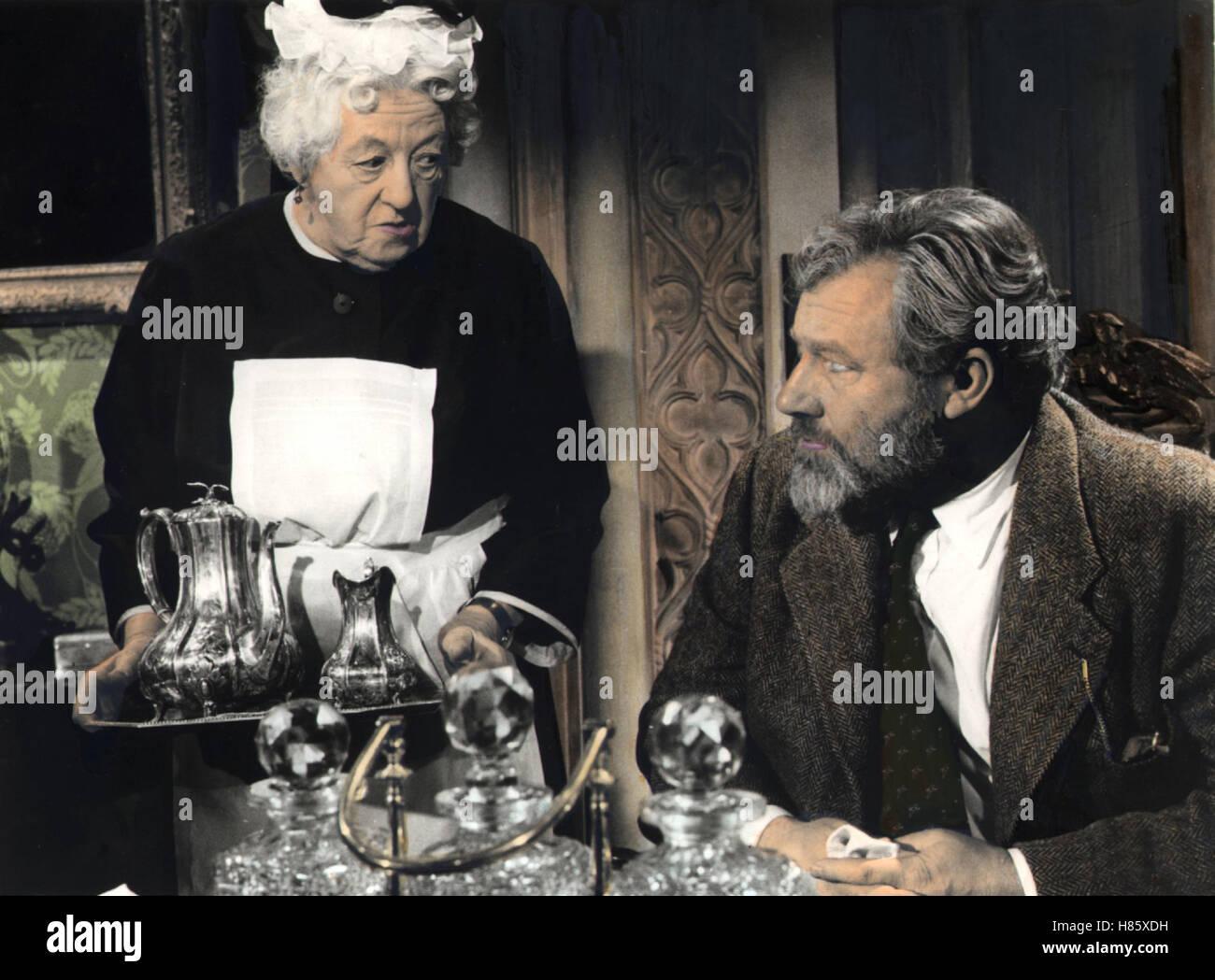 16 Uhr 50 ab Paddington, (MURDER SHE SAID) GB 1961, Regie: George Pollock, MARGARET RUTHERFORD, JAMES ROBERTSON - Stock Image