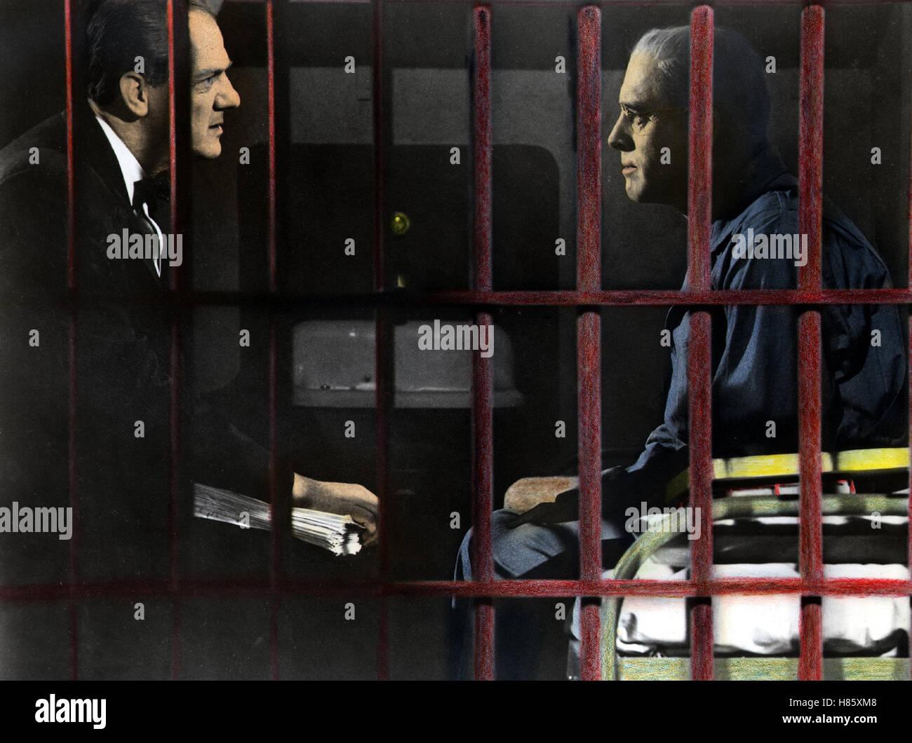 Der Gefangene von Alcatraz, (BIRDMAN OF ALCATRAZ) USA 1961, Regie: John Frankenheimer, KARL MALDEN, BURT LANCASTER, Stock Photo