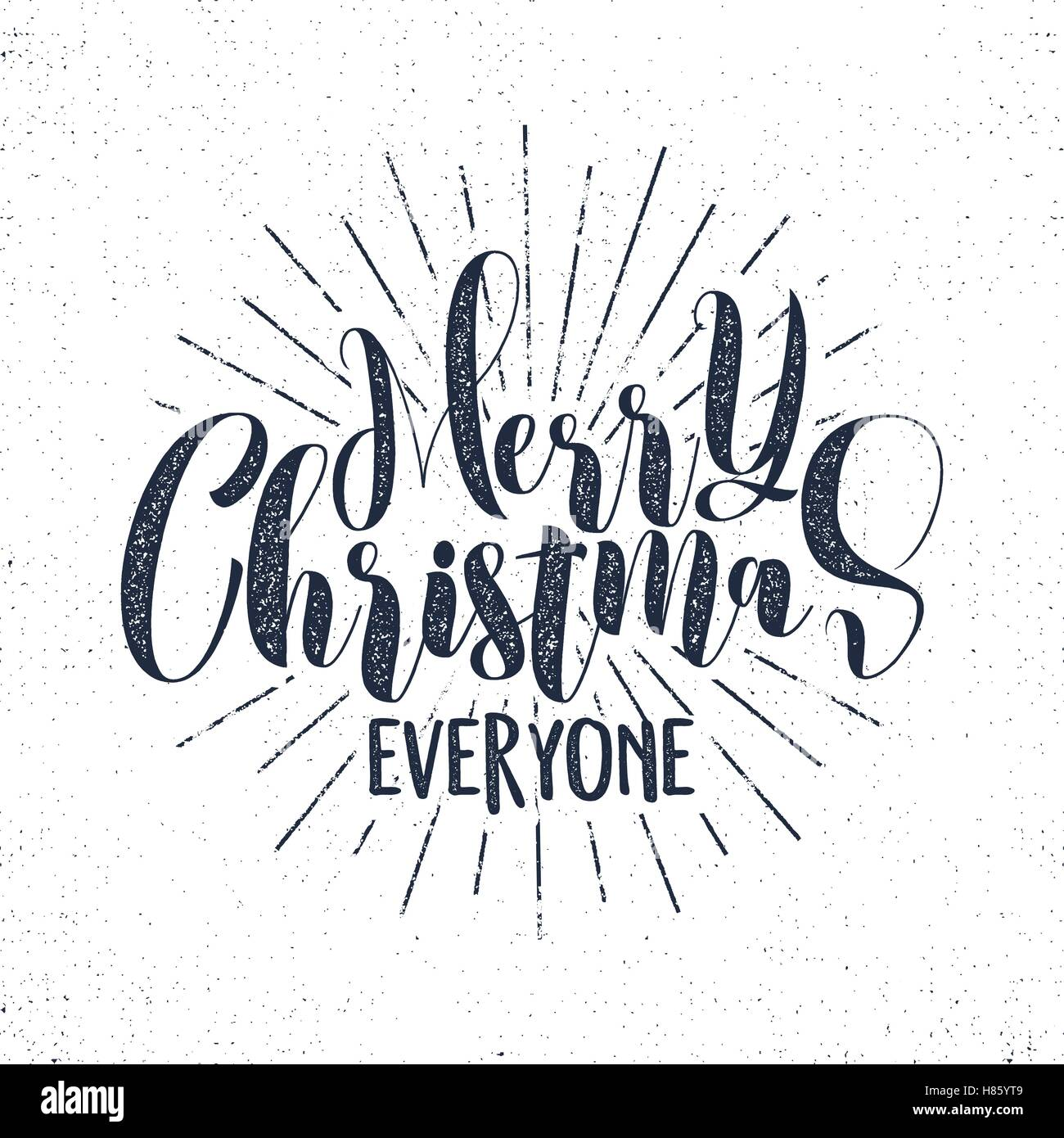 Merry christmas everyone lettering holiday wishe sayings and stock merry christmas everyone lettering holiday wishe sayings and vintage label seasons greetings calligraphy seasonal typography design vector monochrome m4hsunfo