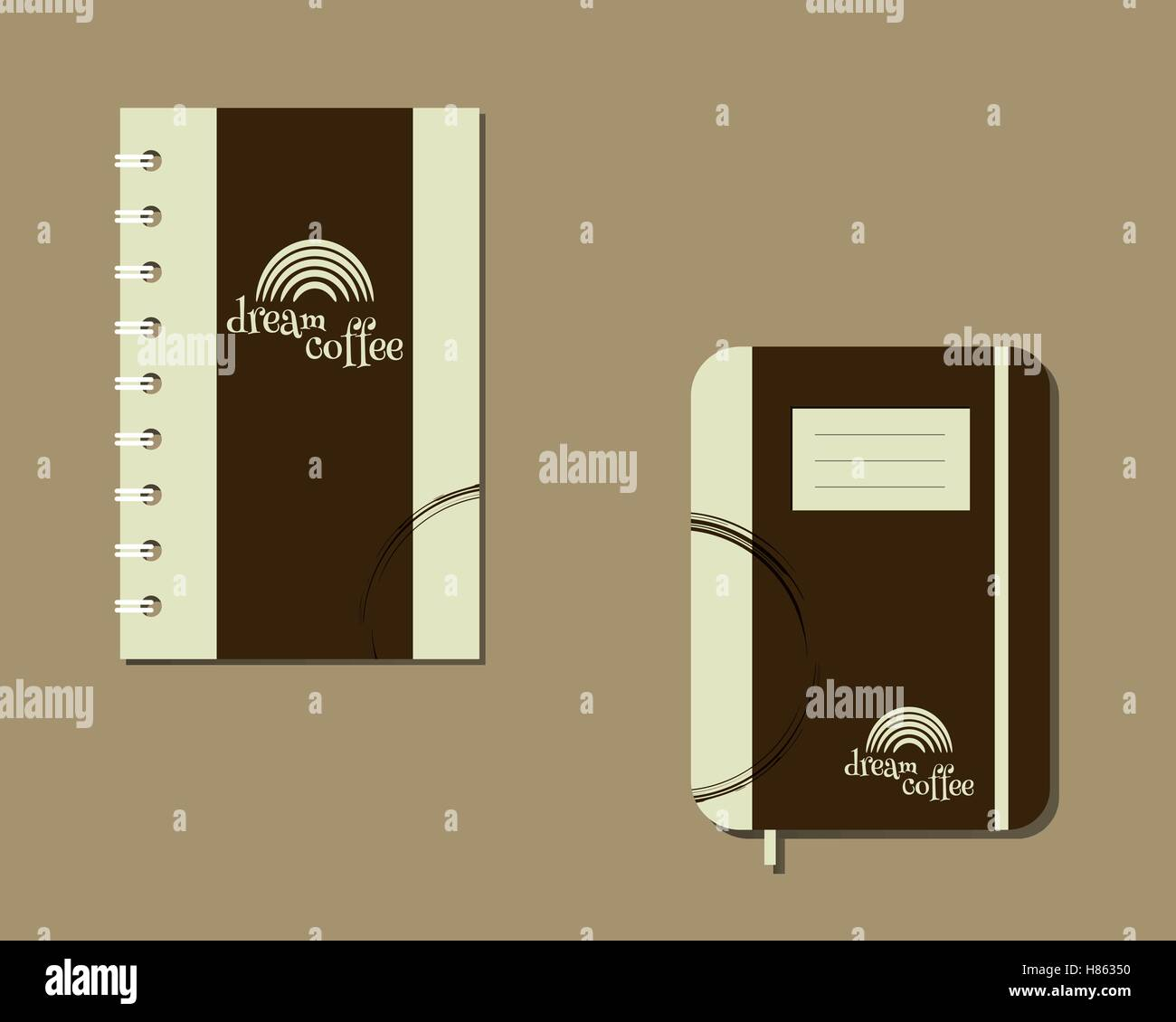 Corporate Identity Template Design For Cafe Restaurant And Other Stock Vector Image Art Alamy
