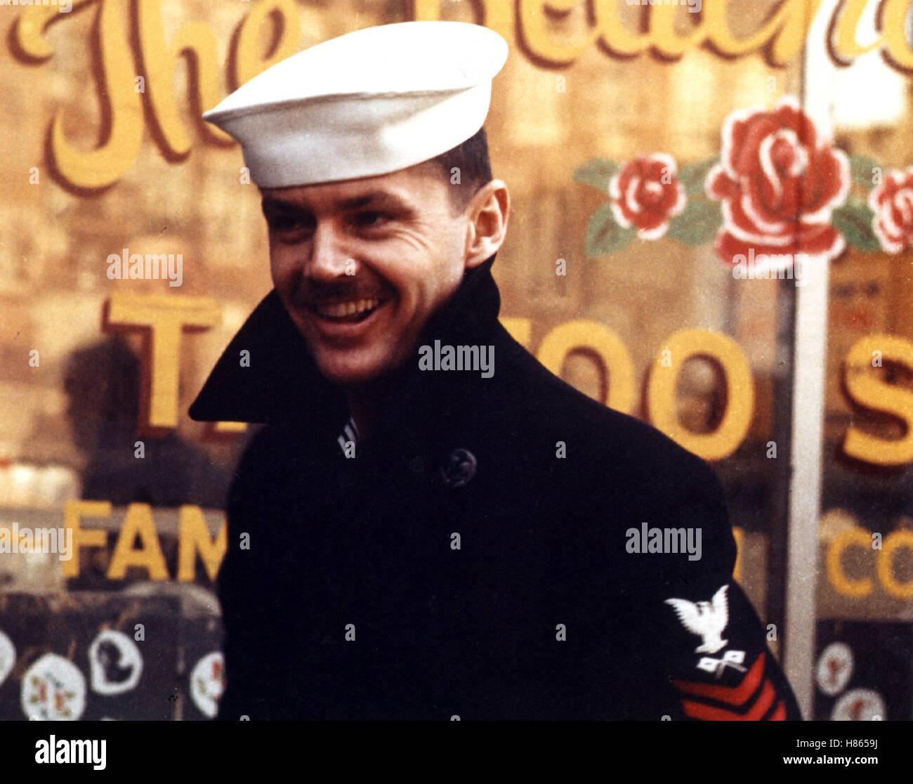 Das letzte Kommando, (THE LAST DETAIL) USA 1973, Regie: Hal Ashby, JACK NICHOLSON, Stichwort: Matrose, Seemann - Stock Image