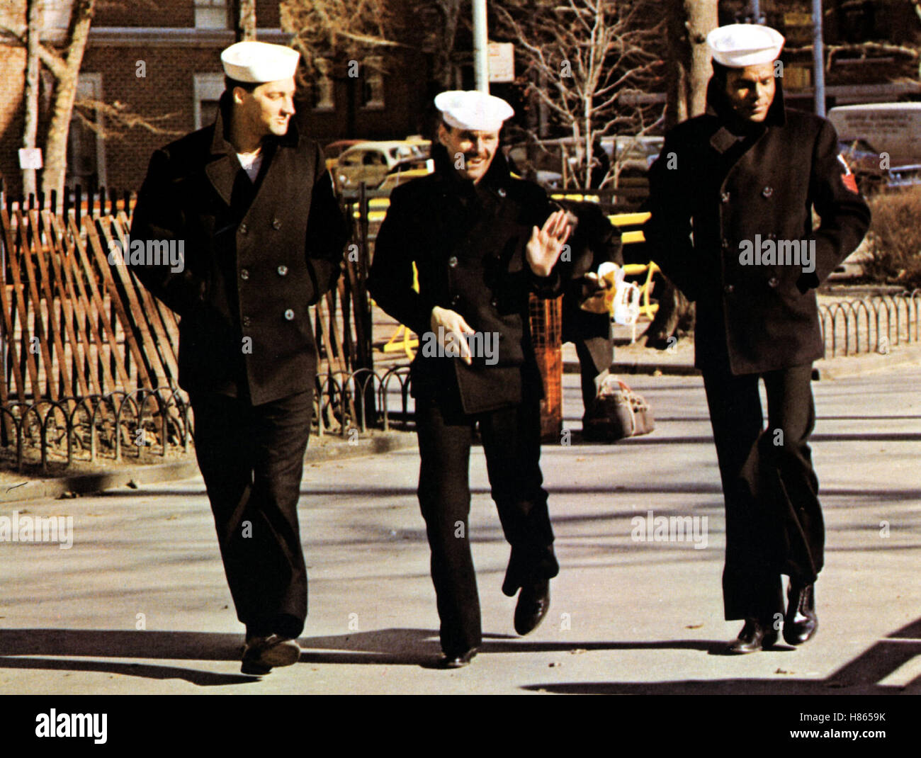 Das letzte Kommando, (THE LAST DETAIL) USA 1973, Regie: Hal Ashby, RANDY QUAID, JACK NICHOLSON, OTIS YOUNG, Stichwort: - Stock Image