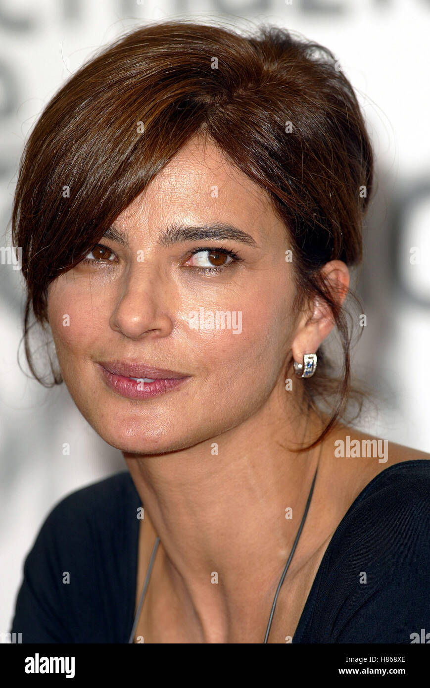 LAURA MORANTE VIAGGIO CHIAMTO AMORE PHOTOCAL VENICE FILM FESTIVAL VENICE ITALY 04 September 2002 - Stock Image