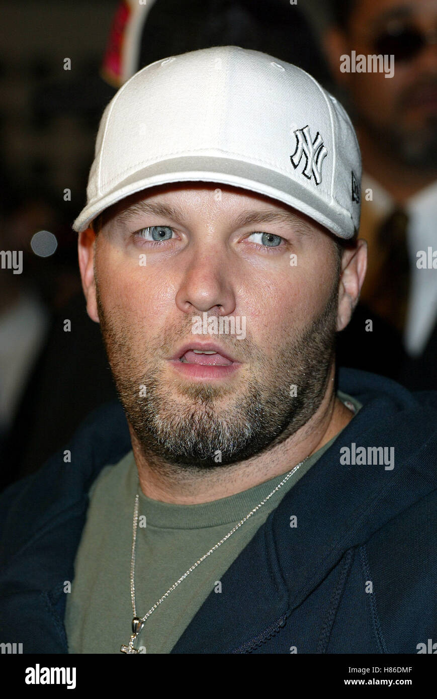 FRED DURST JACKASS THE MOVIE WORLD PREM CINERAMA DOME HOLLYWOOD LOS ANGELES  USA 21 October 2002 070075b2164