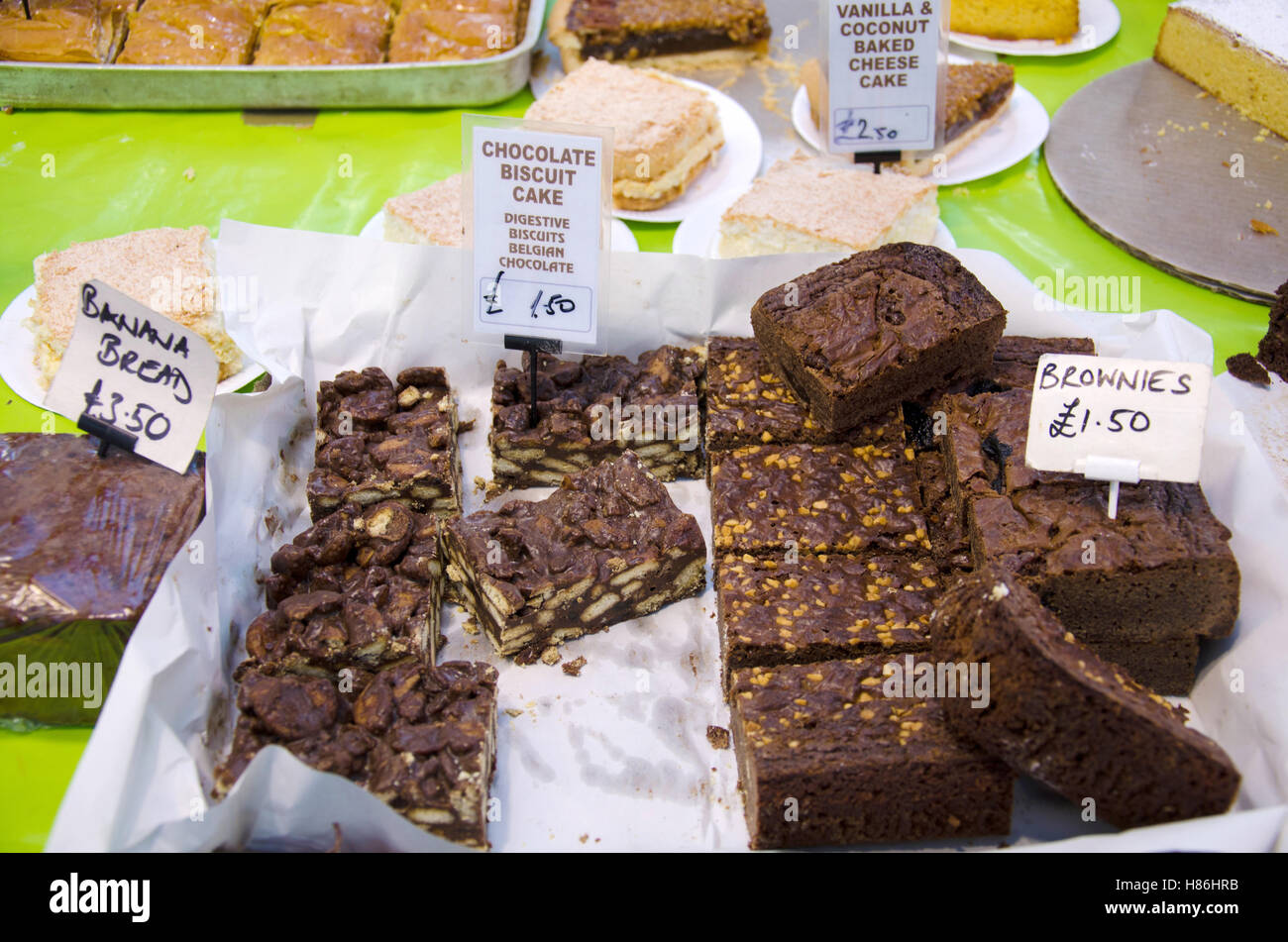 Fair Trade Cakes And Brownies