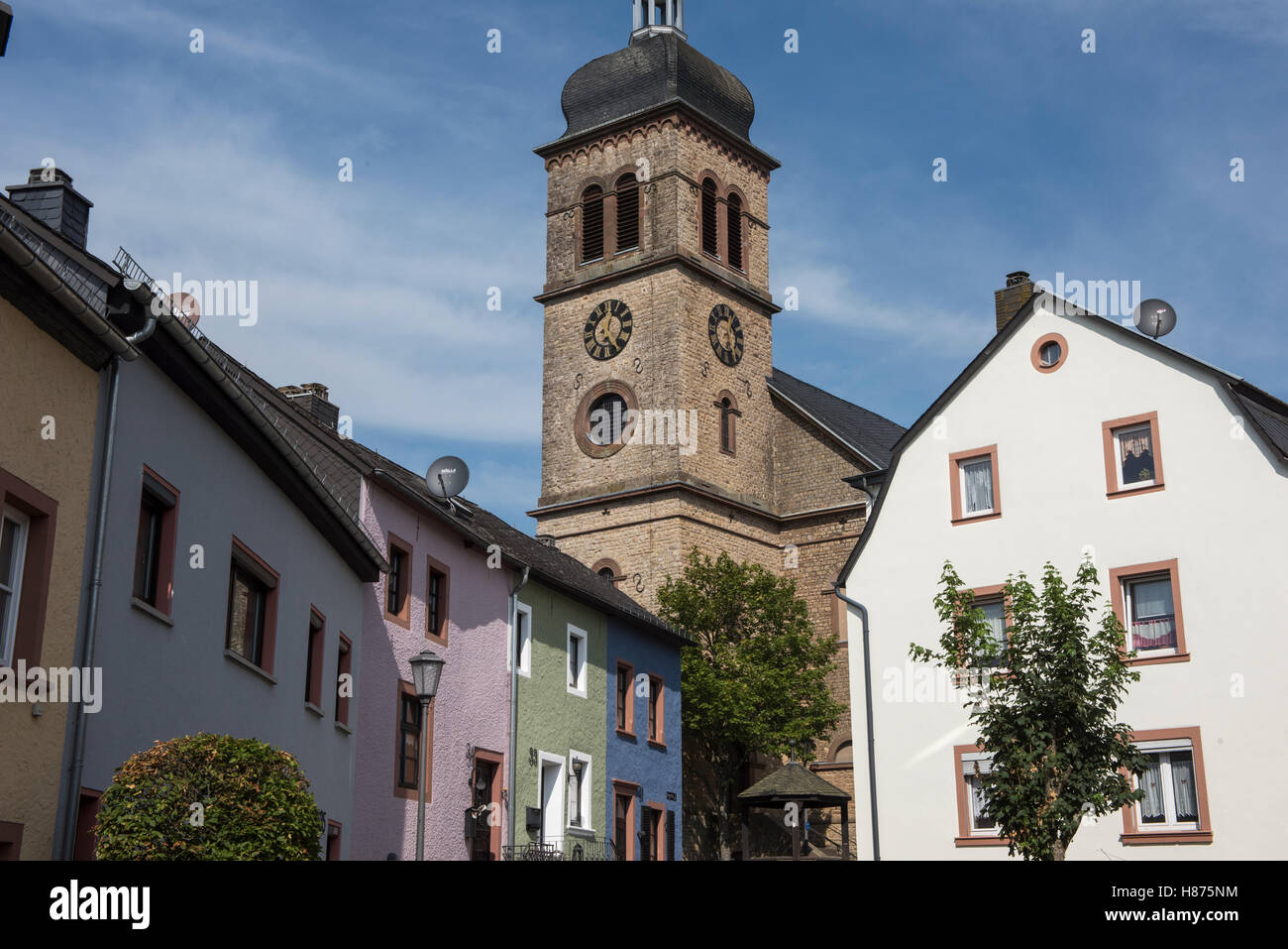 Hillesheim; Germany; Brian Harris Stock Photo