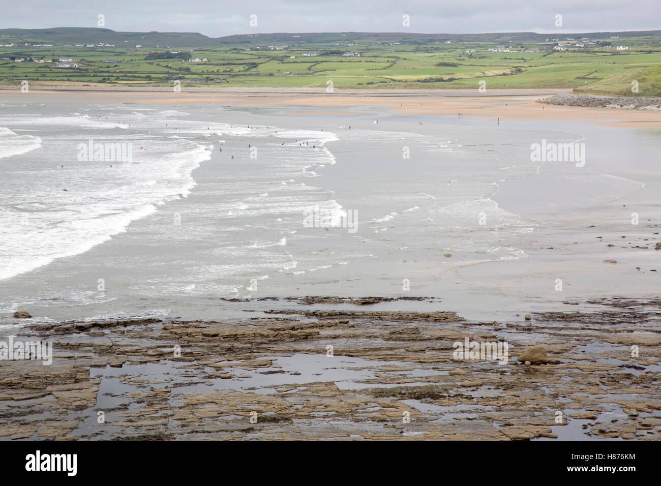 Lahinch Beach, Clare, Ireland, Europe - Stock Image