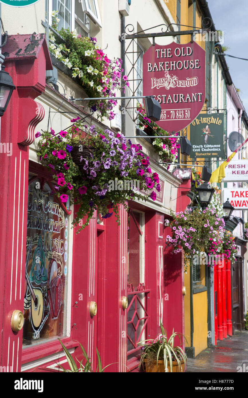 Old Bakehouse Restaurant, Milltown Malbay, Clare, Ireland - Stock Image