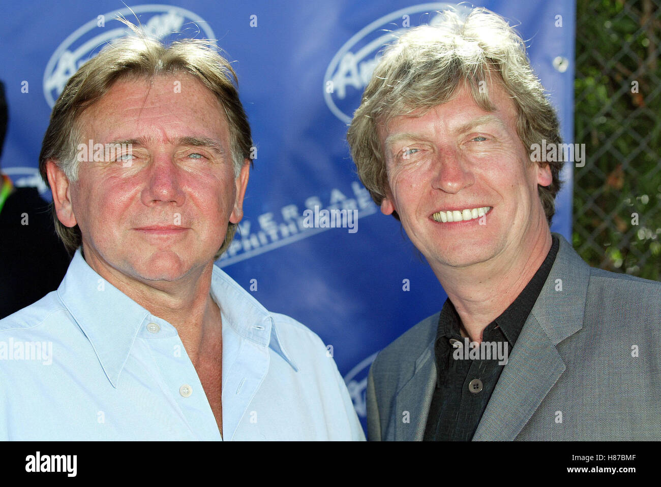 UNKNOWN AMERICAN IDOL 2 FINALS UNIVERSAL AMPHITHEATRE LOS ANGELES USA 21 May 2003 - Stock Image