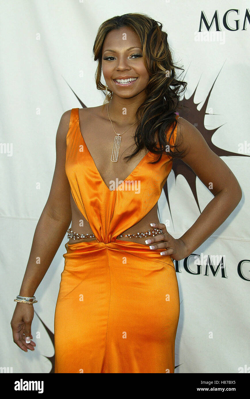 ASHANTI VH1 DIVAS DUETS MGM HOTEL & CASINO LAS VEGAS USA 22 May 2003 - Stock Image
