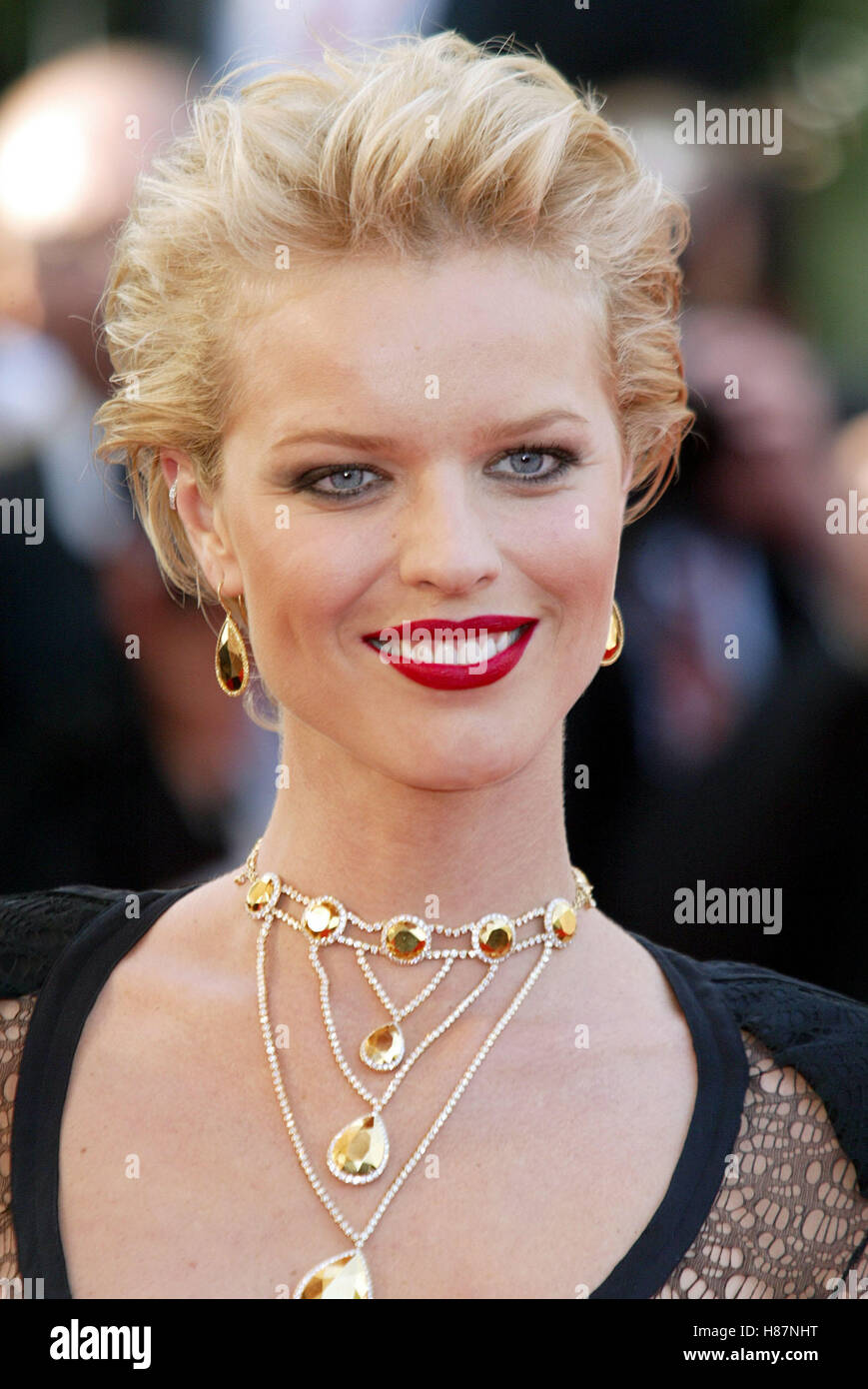 Eva Herzigova Cannes Film Festival Cannes France 19 May 2003 Stock Photo Alamy