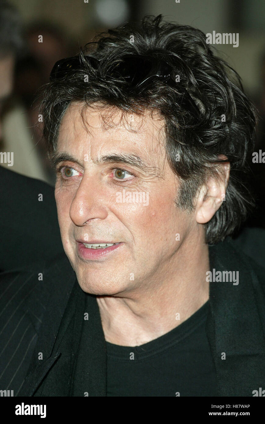 AL PACINO THE RECRUIT FILM PREMIERE CINERAMA DOME HOLLYWOOD LOS ANGELES USA 28 January 2003 - Stock Image