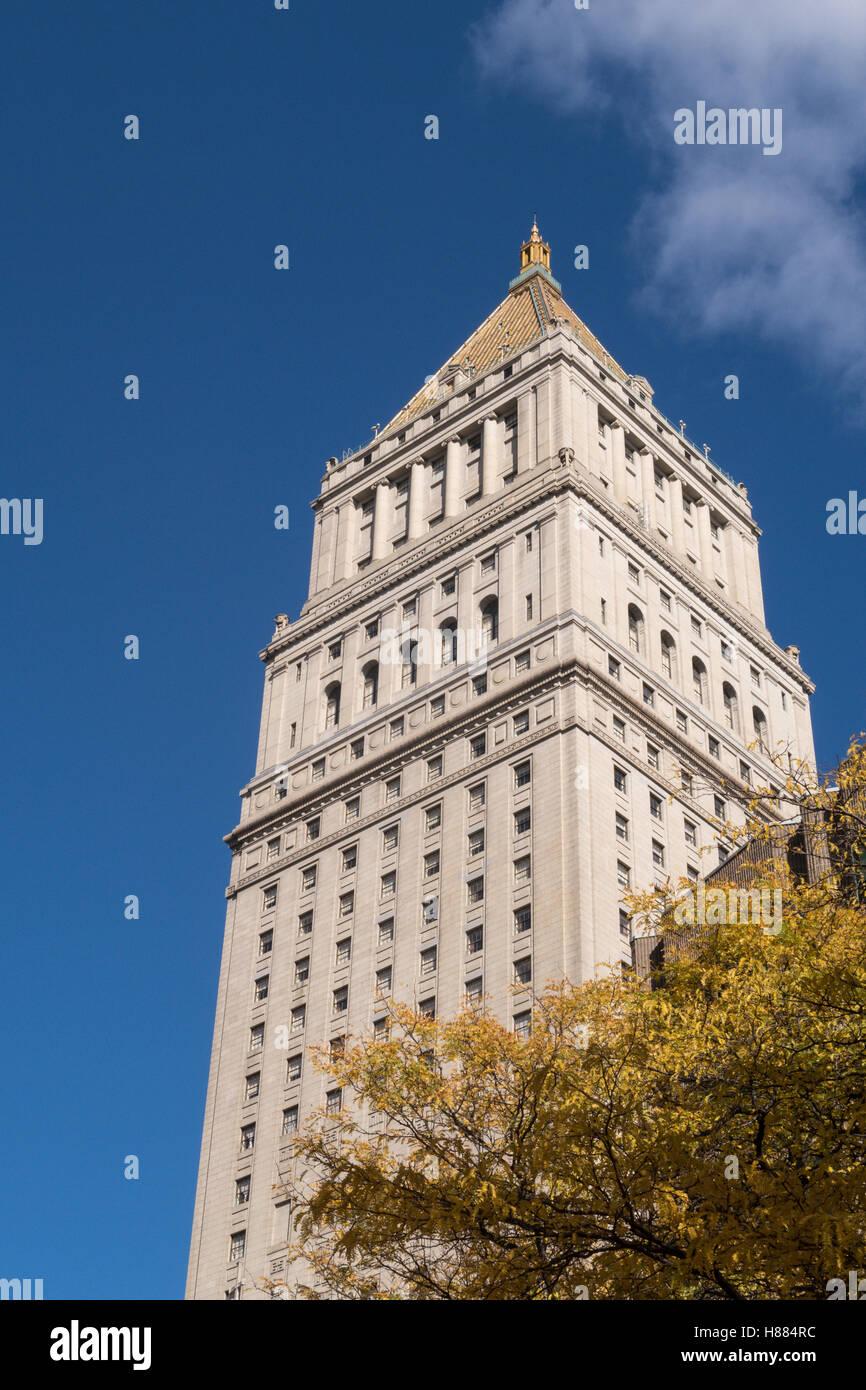 Thurgood Marshall Courthouse, NYC, USA - Stock Image