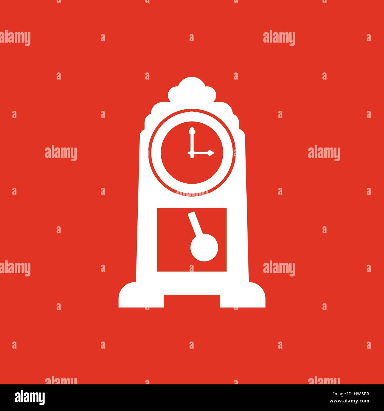 time clock icon time and watch timer clock symbol ui web logo