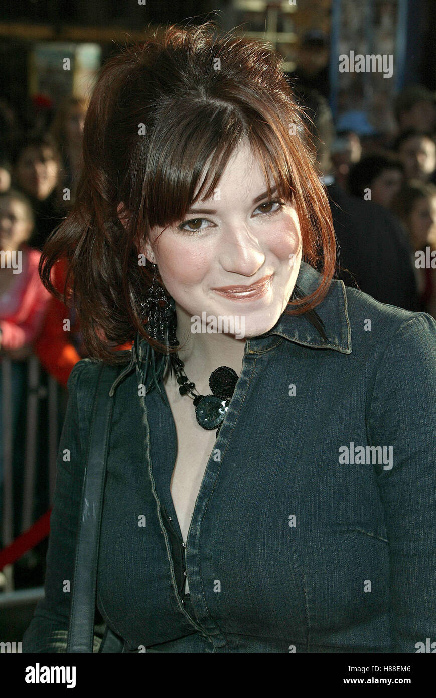 ANNELIESE VAN DER POL THE LIZZIE MCGUIRE MOVIE FILM EL CAPITAIN THEATRE HOLLYWOOD LOS ANGELES USA 26 April 2003 - Stock Image