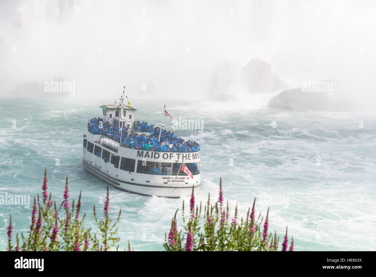 Maid of the Mist, Niagara Falls - Stock Image