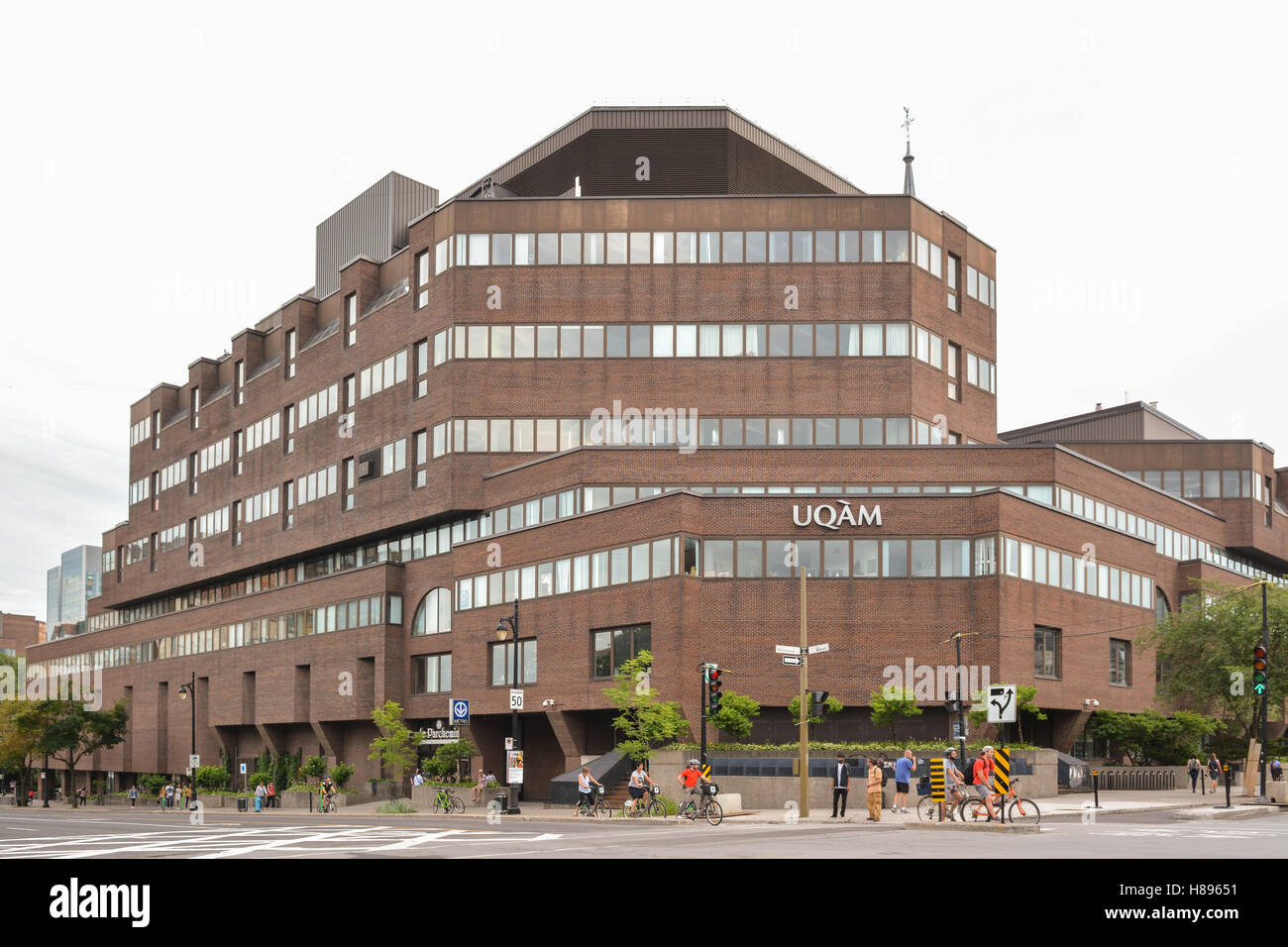 UQAM - University of Quebec in Montreal - Montreal, Canada - Stock Image