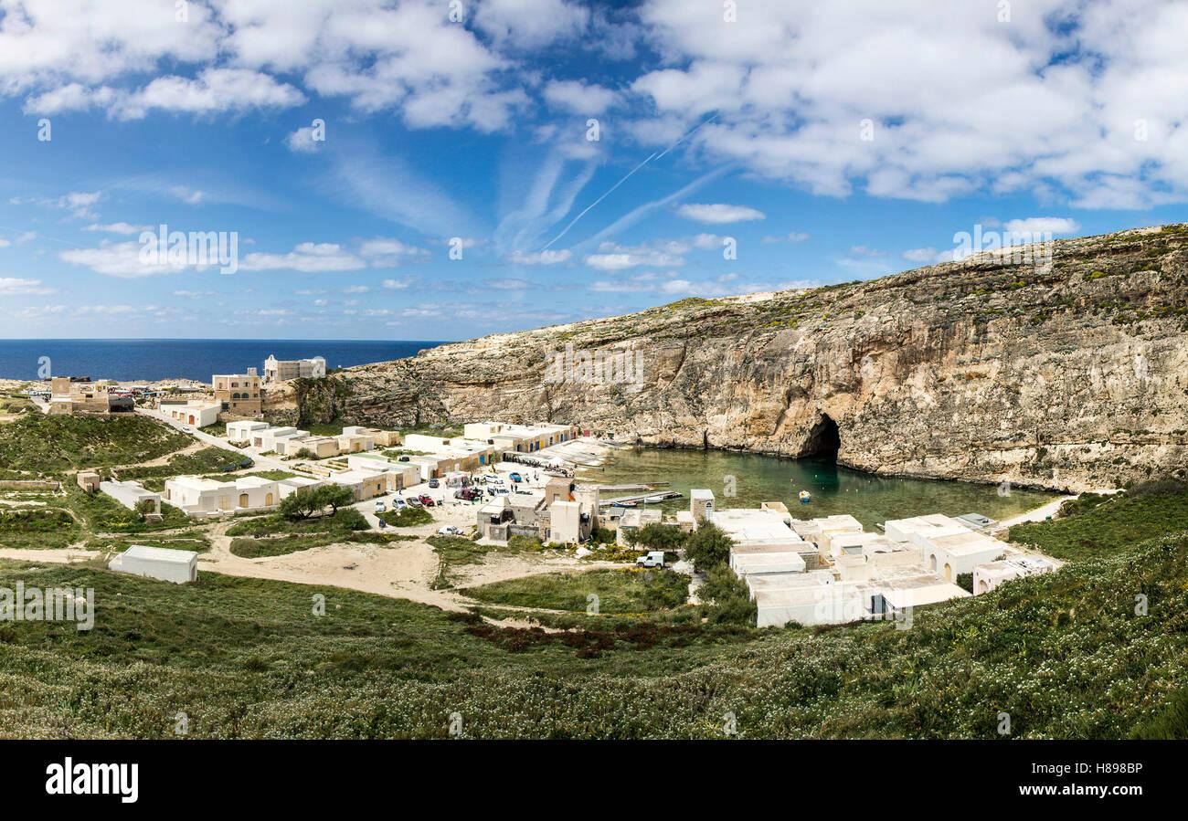 Dwejra inland sea, Malta - Stock Image
