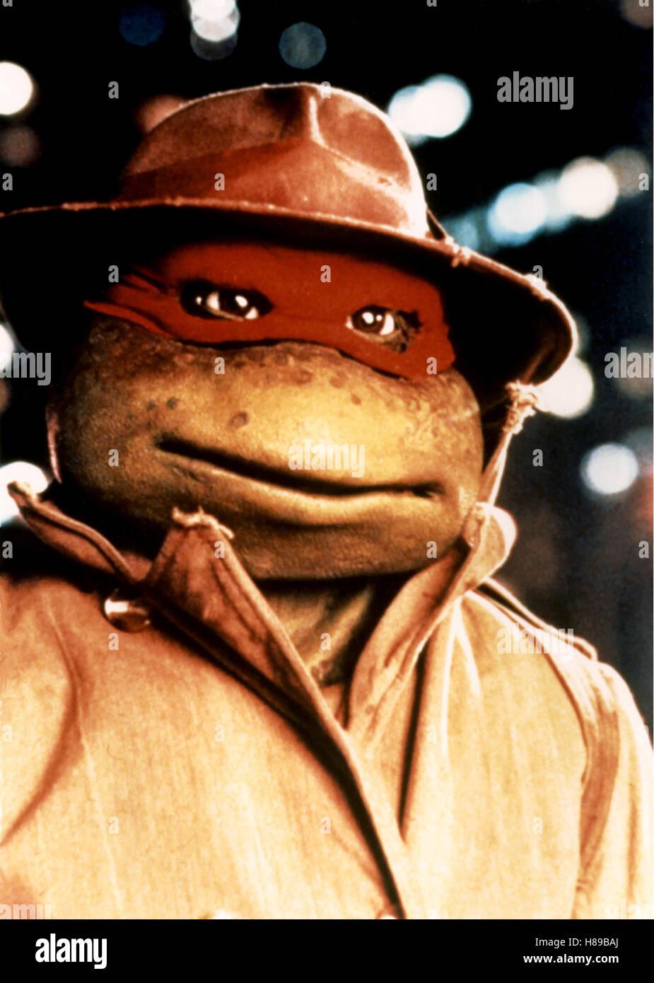 Turtles, (TEENAGE MUTANT NINJA TURTLES) USA 1990, Regie: Steve Barron, TURTLE - Stock Image