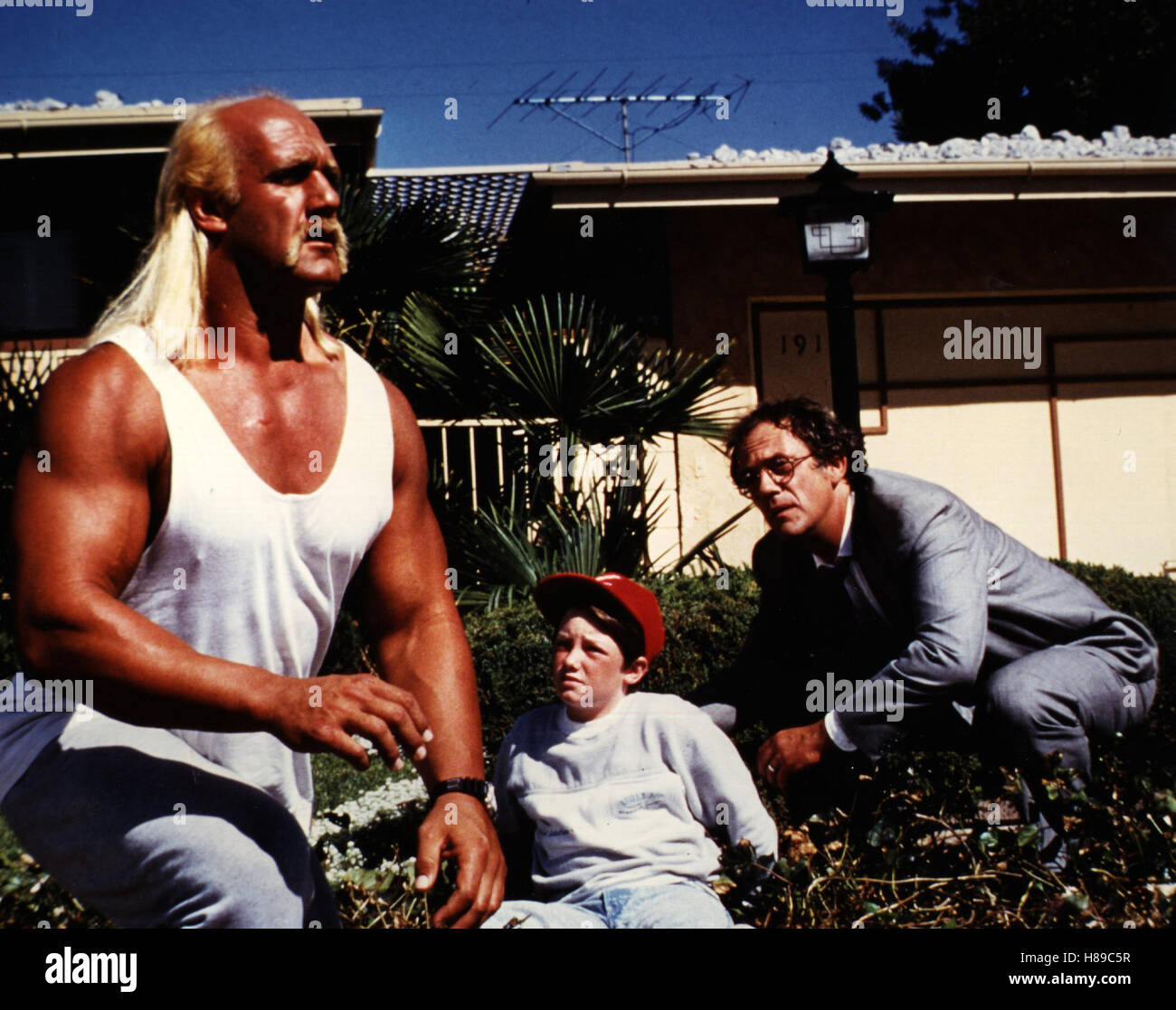 Der Ritter aus dem All, (SUBURBAN COMMANDO) USA 1991, Regie: Burt Kennedy, HULK HOGAN + CHRISTOPHER LLOYD - Stock Image