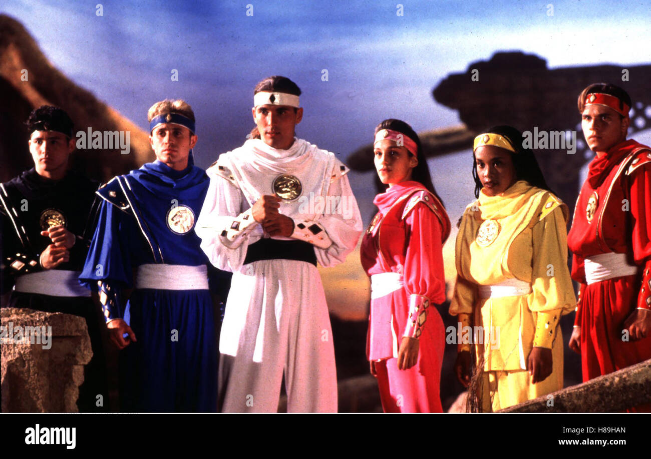 Power Rangers - Der Film, (MIGHTY MORPHIN POWER RANGERS - THE MOVIE), USA 1995, Regie: Bryan Spicer, JOHNNY YONG - Stock Image