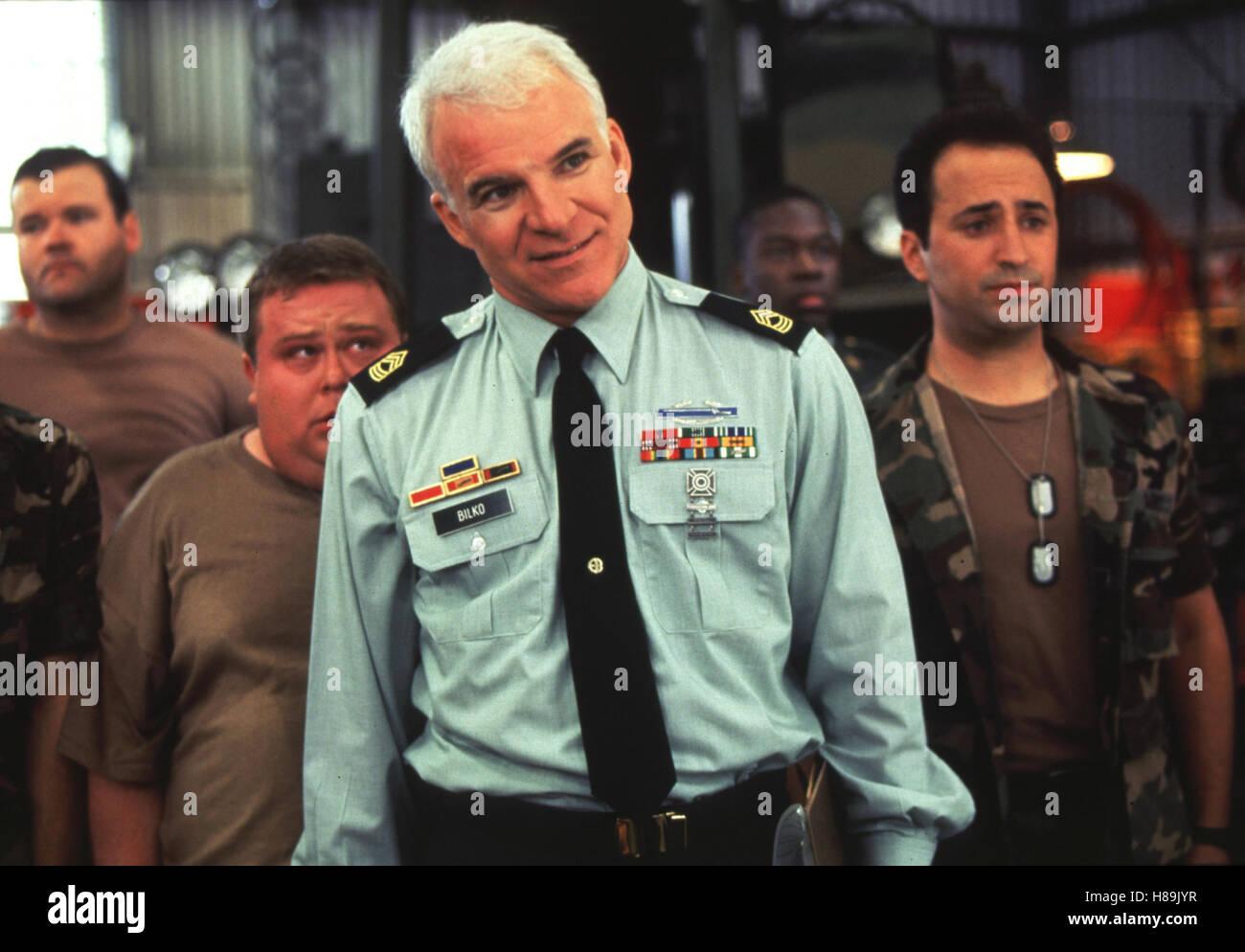 Immer Ärger mit Sergeant Bilko, (SGT. BILKO) USA 1996, Regie: Jonathan Lynn, STEVE MARTIN, Stichwort: Uniform - Stock Image