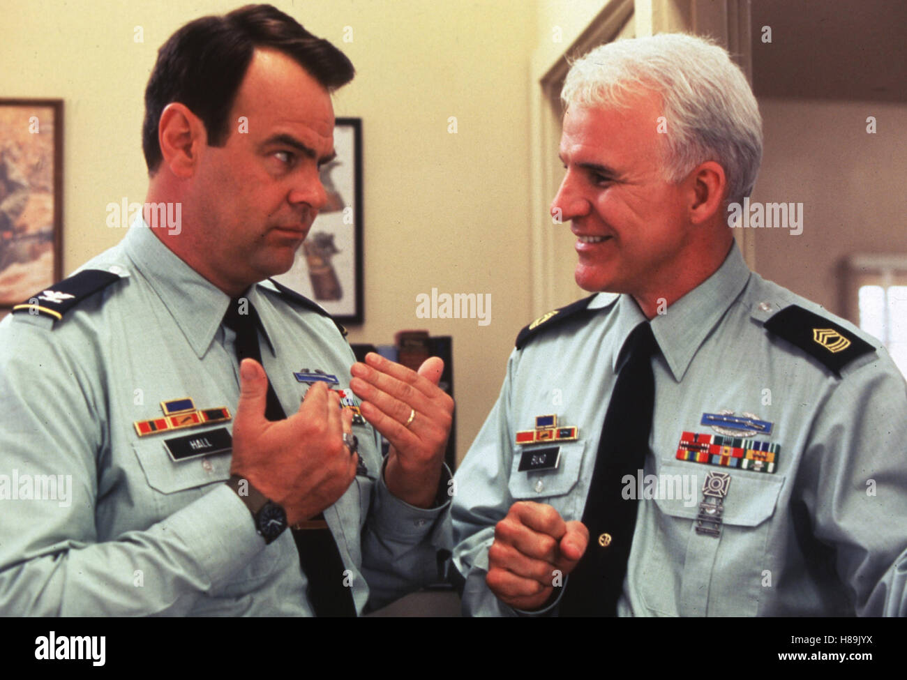Immer Ärger mit Sergeant Bilko, (SGT. BILKO) USA 1996, Regie: Jonathan Lynn, DAN AYKROYD, STEVE MARTIN, Stichwort: - Stock Image