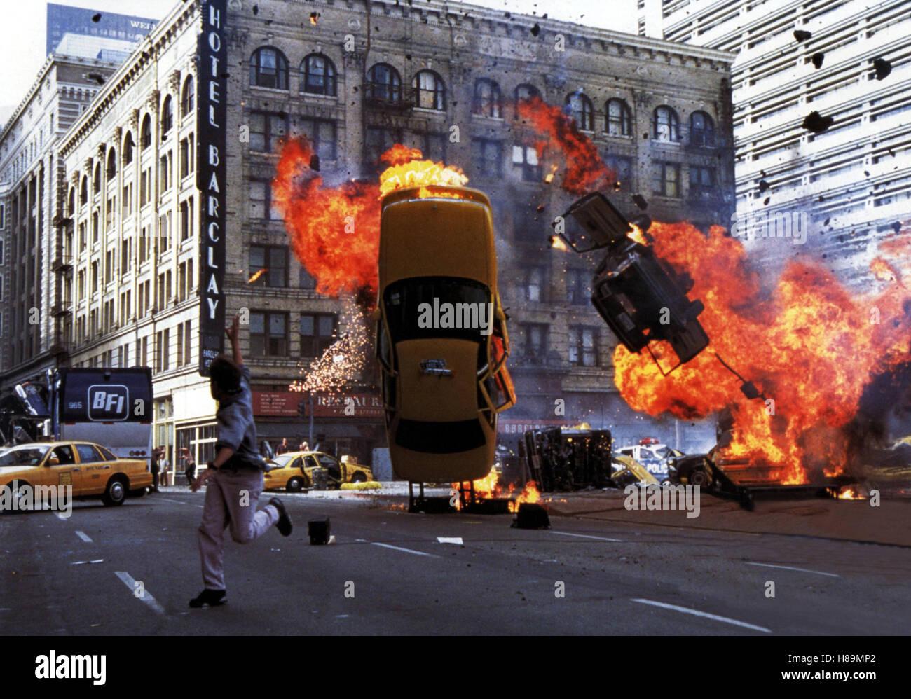Armageddon - Das jüngste Gericht, (ARMAGEDDON) USA 1998, Regie: Michael Bay, Szene Stichwort: Explosion, Feuer, - Stock Image