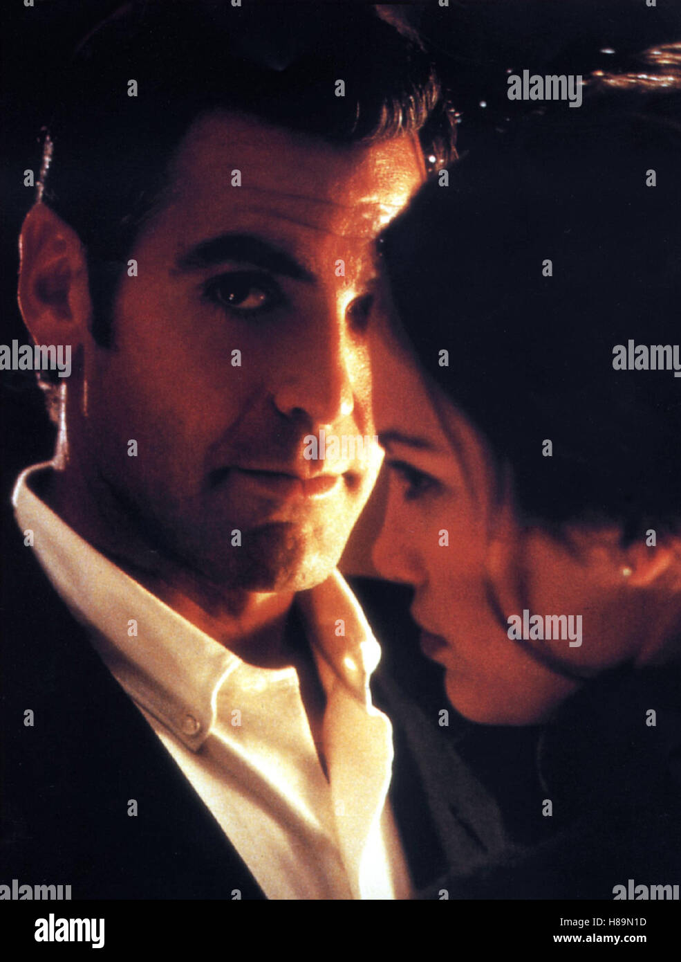 Out of Sight, (OUT OF SIGHT) USA 1998, Regie: Steven Soderbergh, GEORGE CLOONEY, JENNIFER LOPEZ Stock Photo