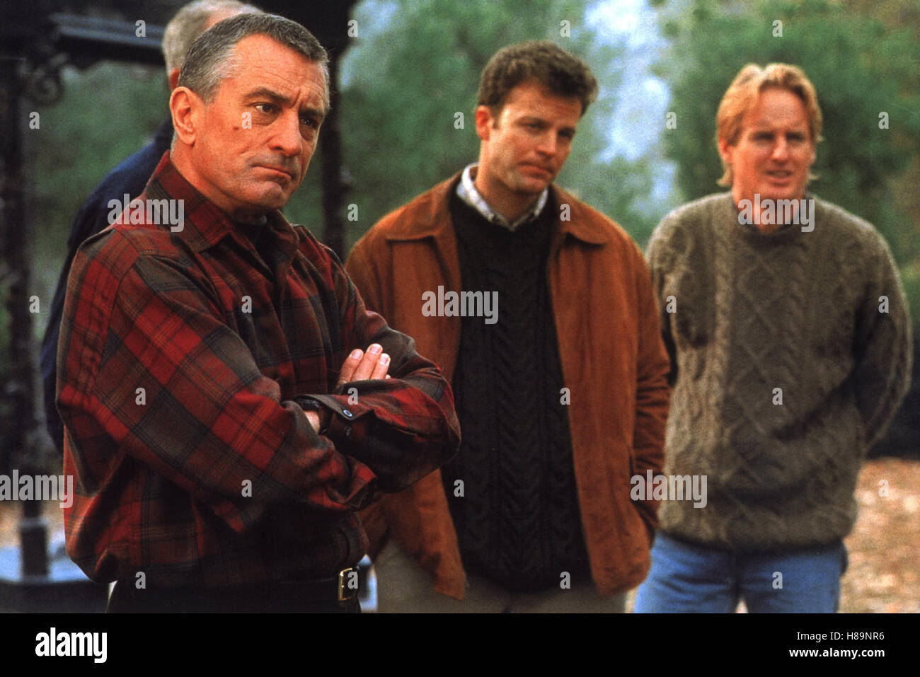 Meine Braut, ihr Vater und ich, (MEET THE PARENTS) USA 1999, Regie: Jay Roach, ROBERT DE NIRO, JON ABRAHAMS, OWEN - Stock Image