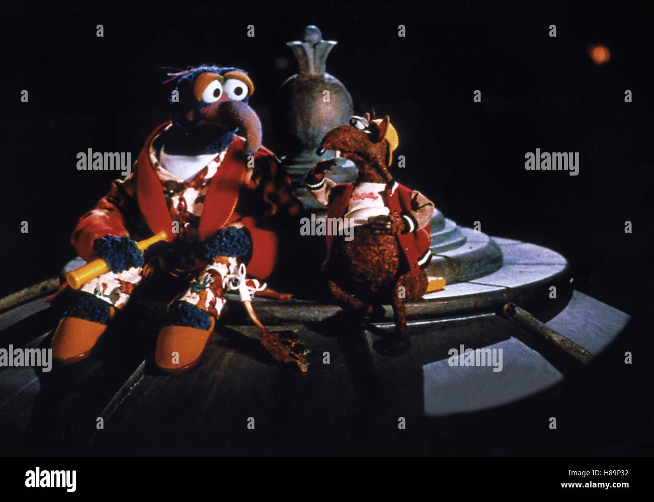 Muppets aus dem All, (MUPPETS FROM SPACE) USA 1999, Regie: Tim Hill - Stock Image