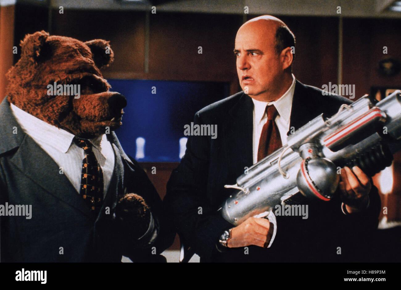 Muppets aus dem All, (MUPPETS FROM SPACE) USA 1999, Regie: Tim Hill, JEFFREY TAMBOR, Stichwort: Waffe - Stock Image