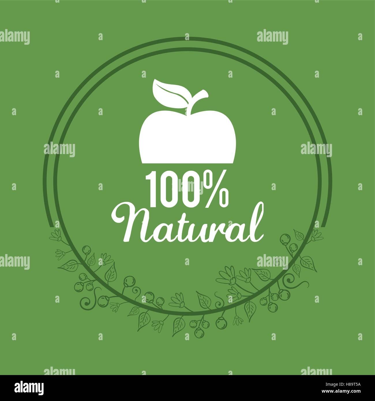 organic food product - Stock Vector
