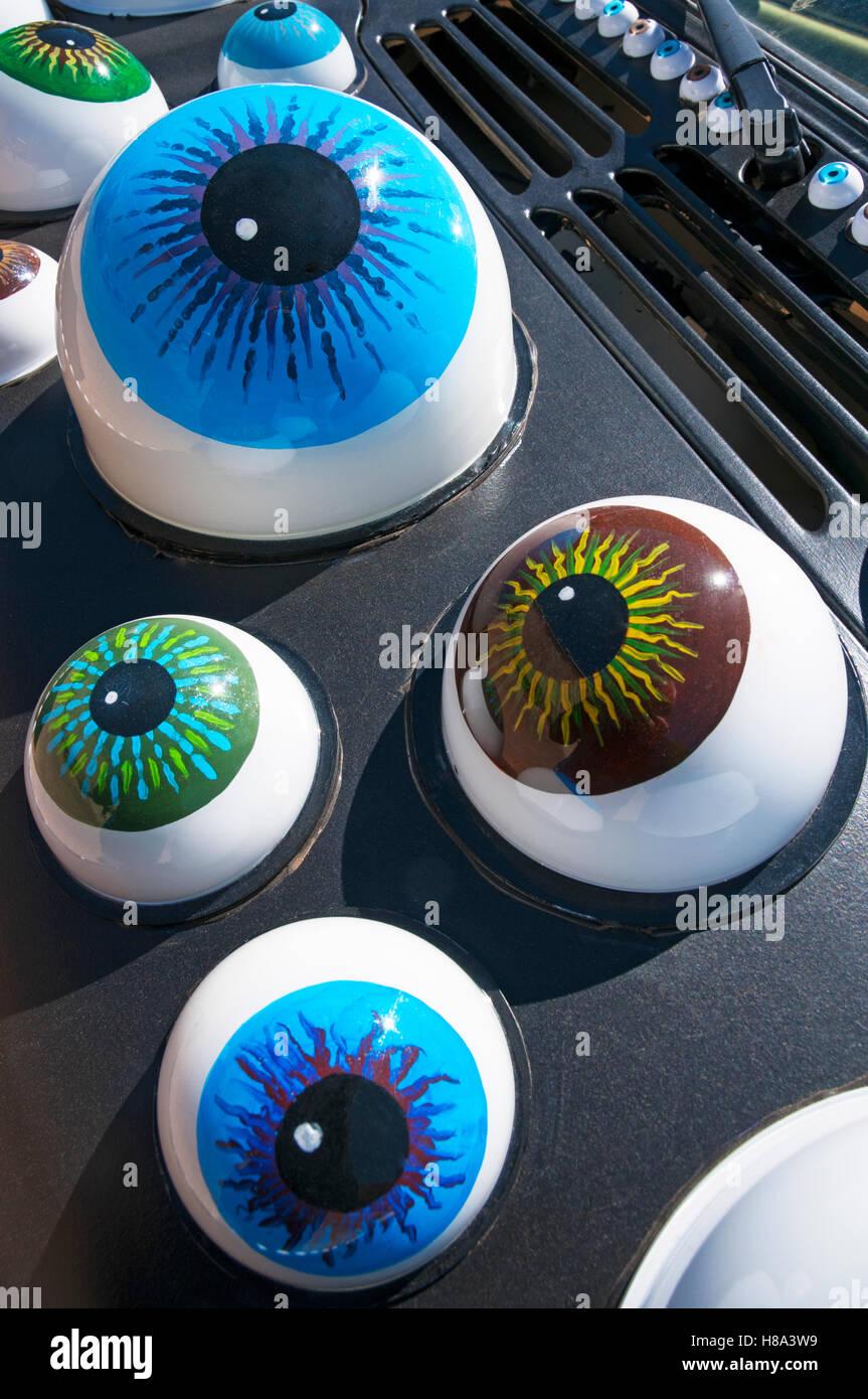 Eyes eyeballs - Stock Image