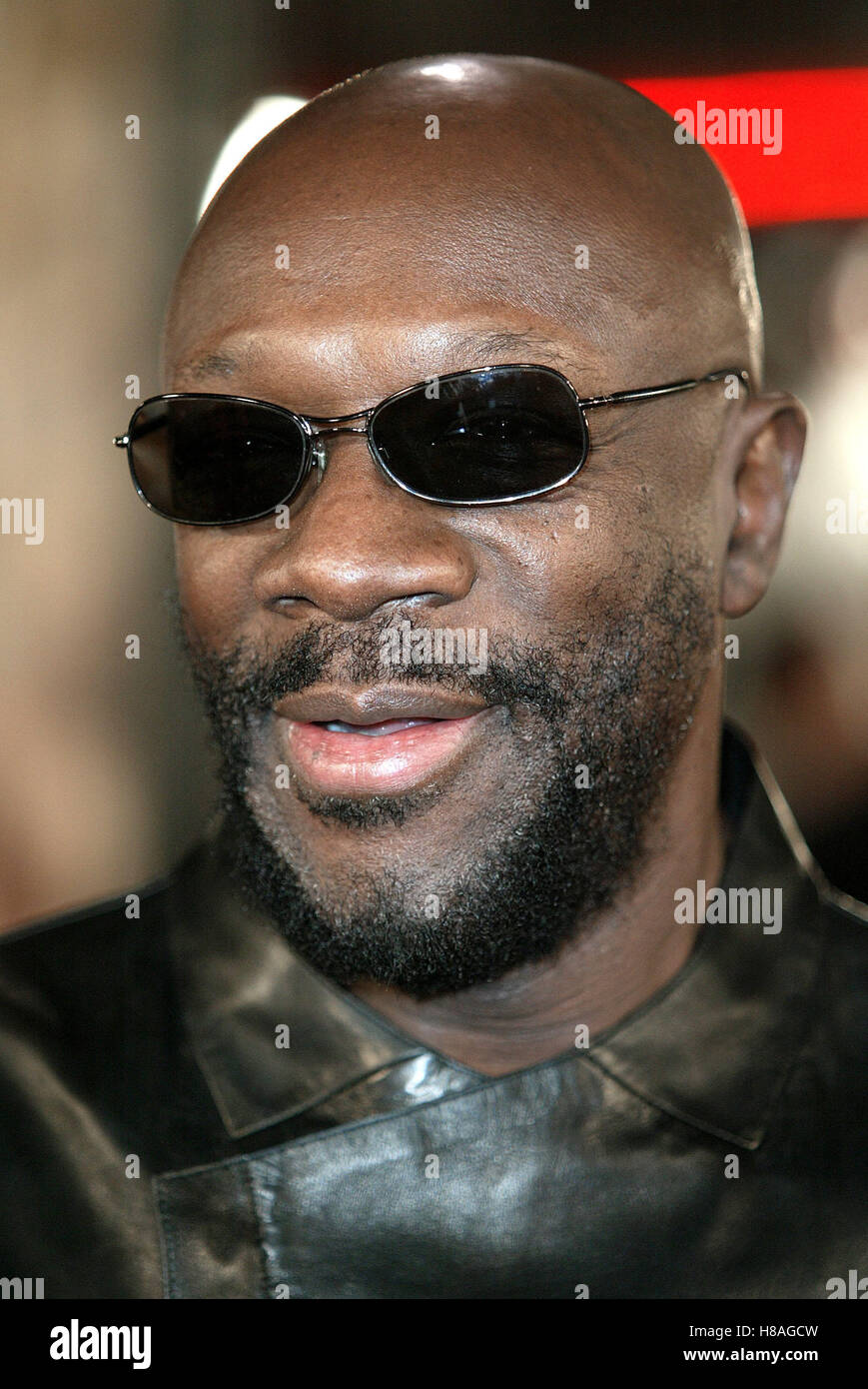 ISAAC HAYES THE LAST SAMURAI LA PREMIERE WESTWOOD LOS ANGELES USA 01 December 2003 - Stock Image