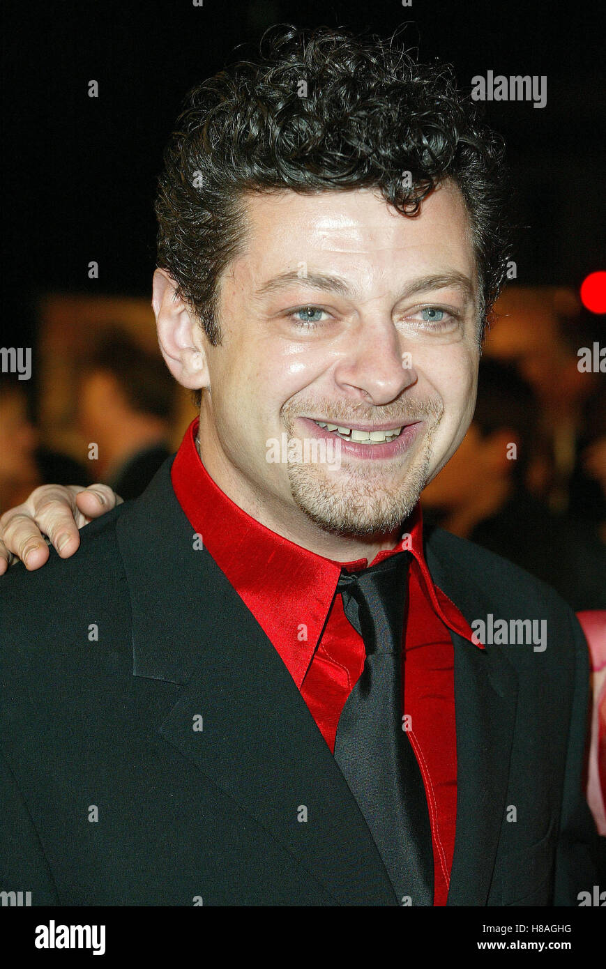ANDY SERKIS LORD OF THE RINGS: THE RETURN WESTWOOD LOS ANGELES USA 03 December 2003 - Stock Image