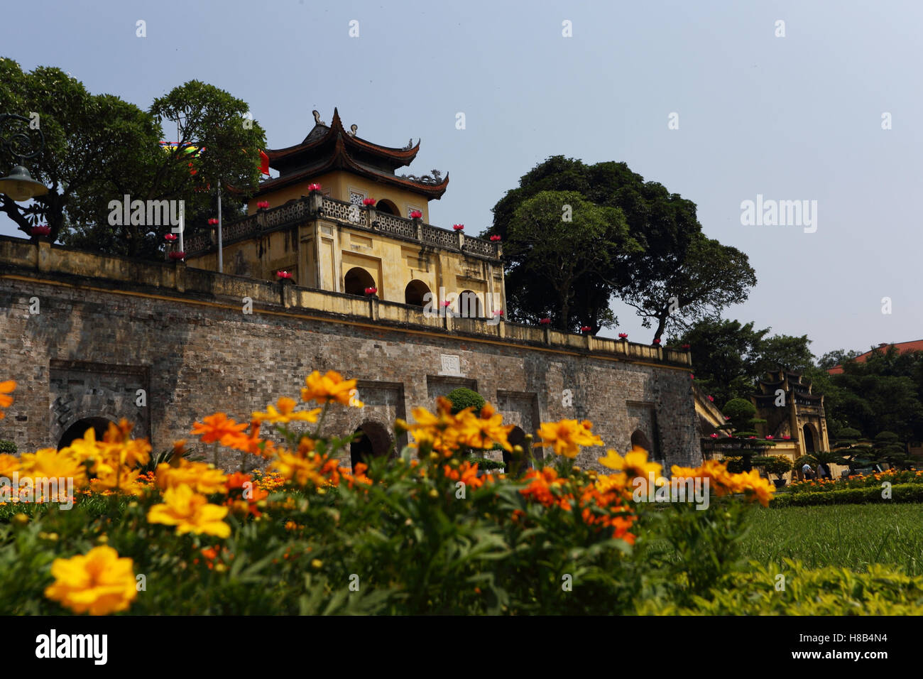 Imperial Citadel Of Thang Long Stock Photos & Imperial Citadel Of ...