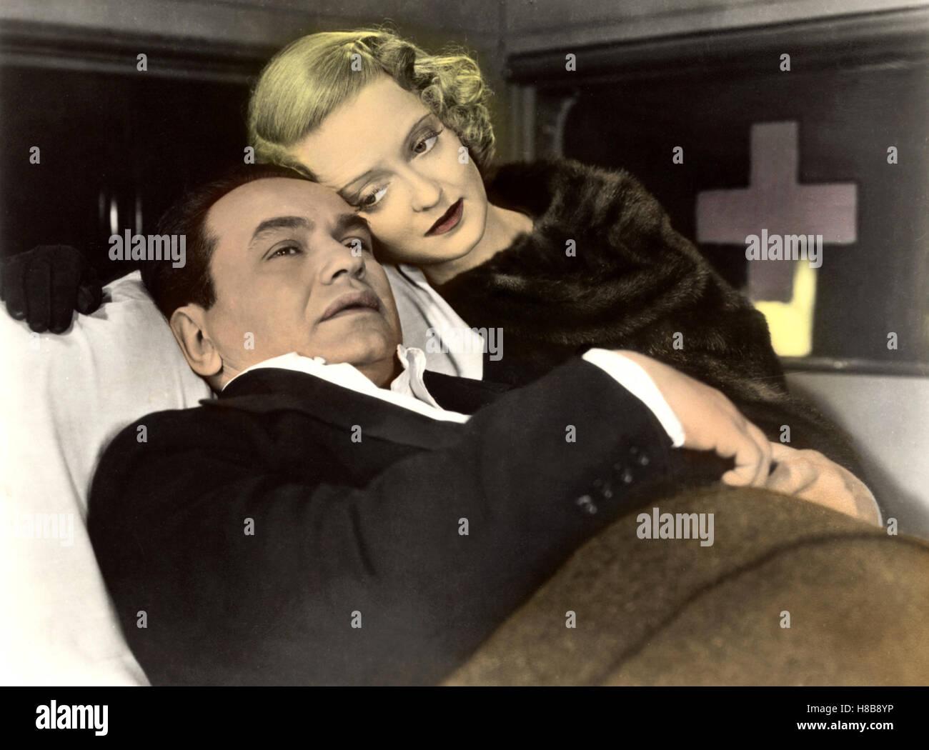Mit harten Fäusten, (KID GALAHAD) USA 1937  s/w, Regie: Michael Curtiz, EDWARD G. ROBINSON, BETTE DAVIS,  Key: - Stock Image