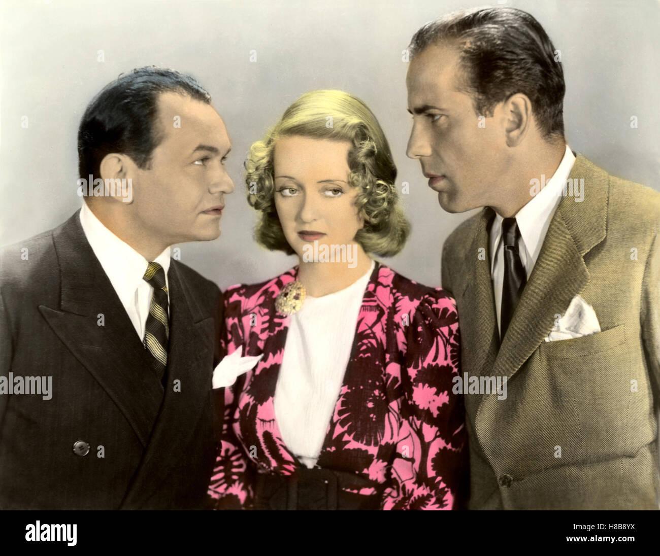 Mit harten Fäusten, (KID GALAHAD) USA 1937  s/w, Regie: Michael Curtiz, EDWARD G. ROBINSON, BETTE DAVIS, , - Stock Image
