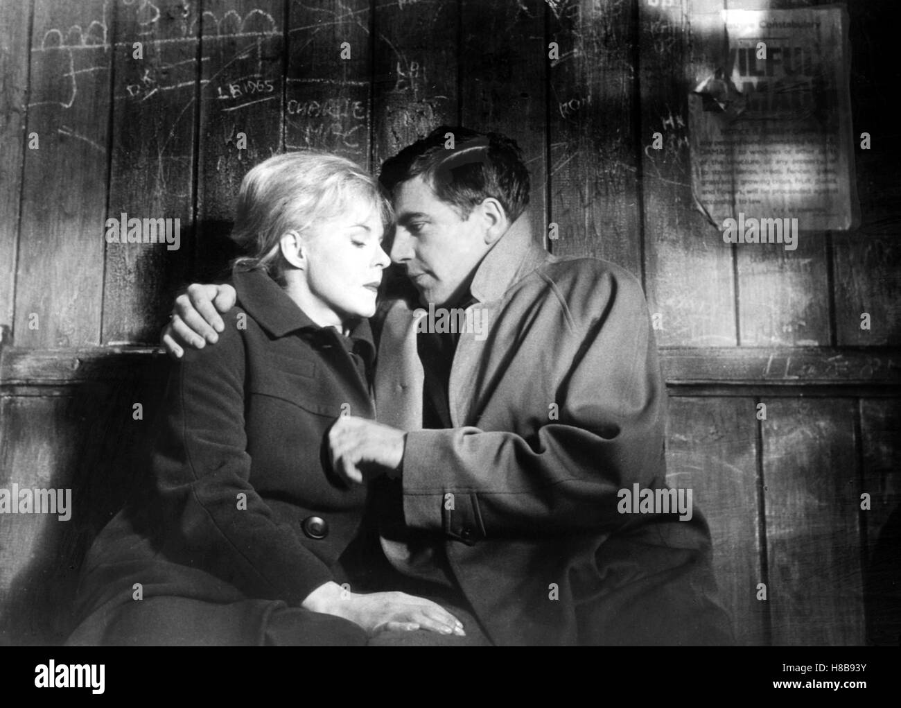 Nur ein Hauch Glueckseligkeit, (A KIND OF LOVING) GB 1961  s/w, Regie: John Schlesinger, JUNE RICHIE, ALAN BATES, Stock Photo