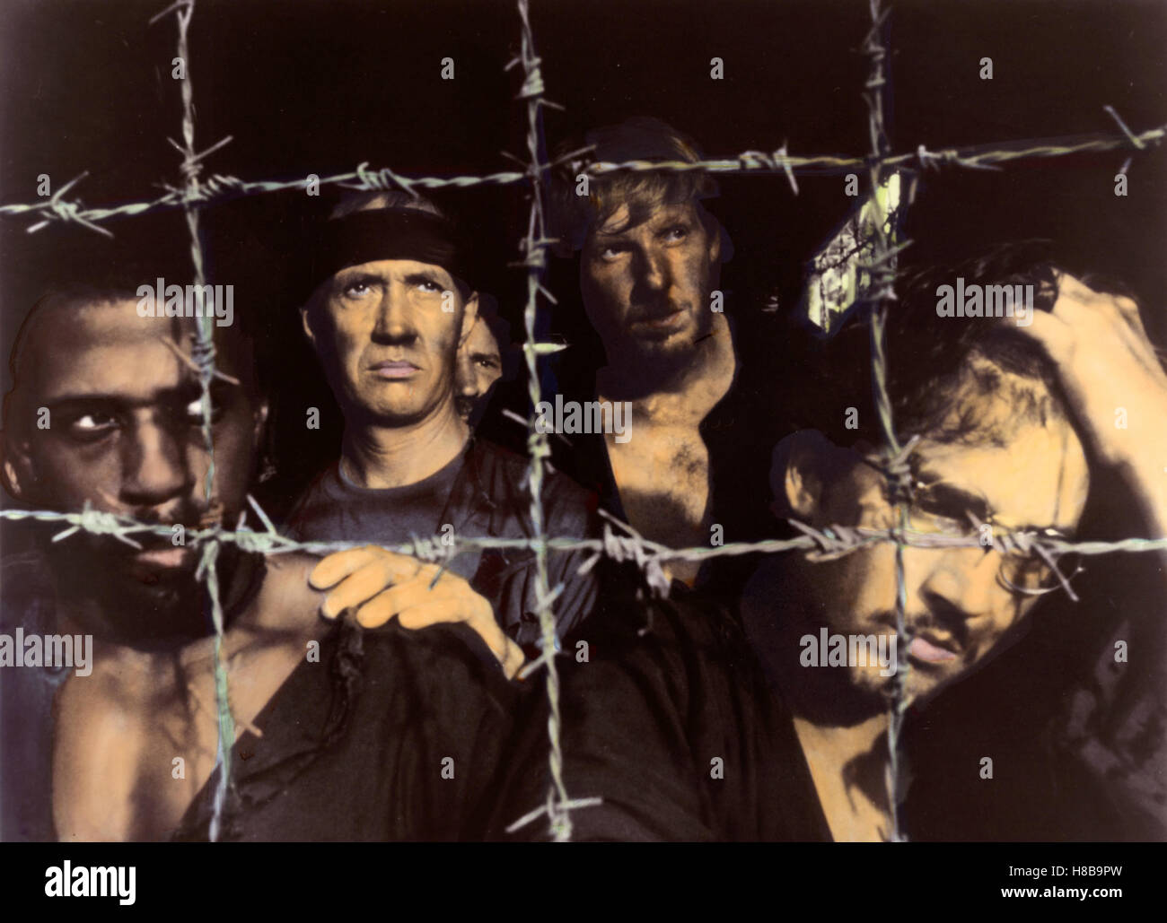 P.O.W. - Die Vergeltung, (BEHIND ENEMY LINES / P.O.W. - THE ESCAPE) USA 1986, Regie: Gideon Amir, STEVE JAMES, DAVID - Stock Image