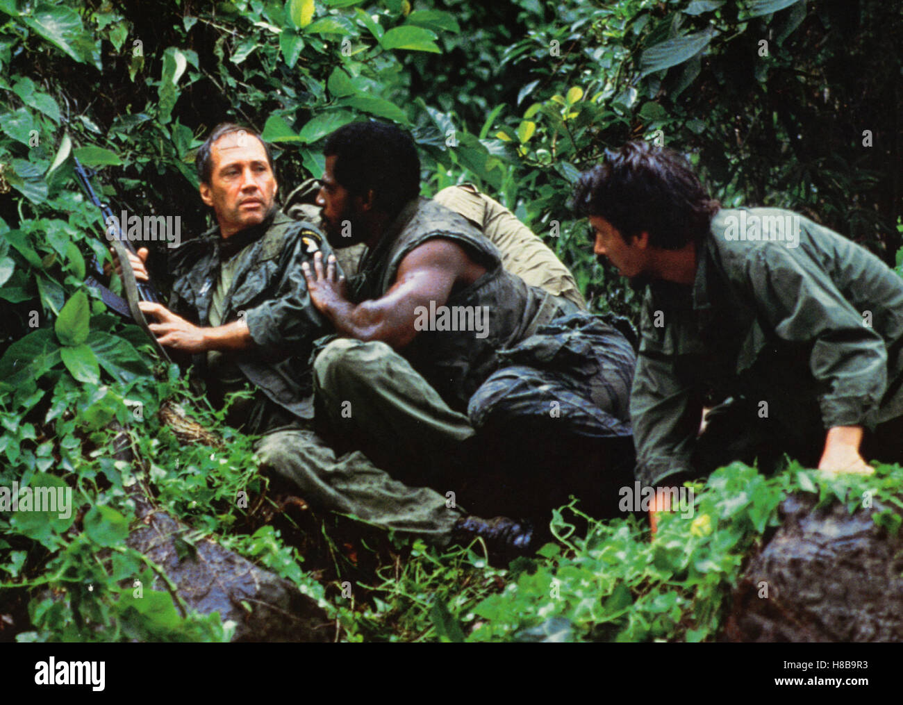 P.O.W. - Die Vergeltung, (BEHIND ENEMY LINES / P.O.W. - THE ESCAPE) USA 1986, Regie: Gideon Amir, DAVID CARRADINE, - Stock Image