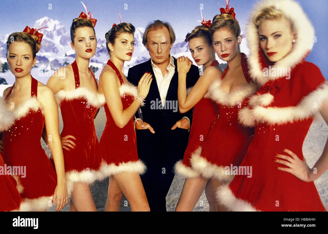 Tatsaechlich...Liebe, (LOVE ACTUALLY) GB 2003, Regie: Richard Curtis, BILL NIGHY, Key: Revue, Revue-Girls, - Stock Image