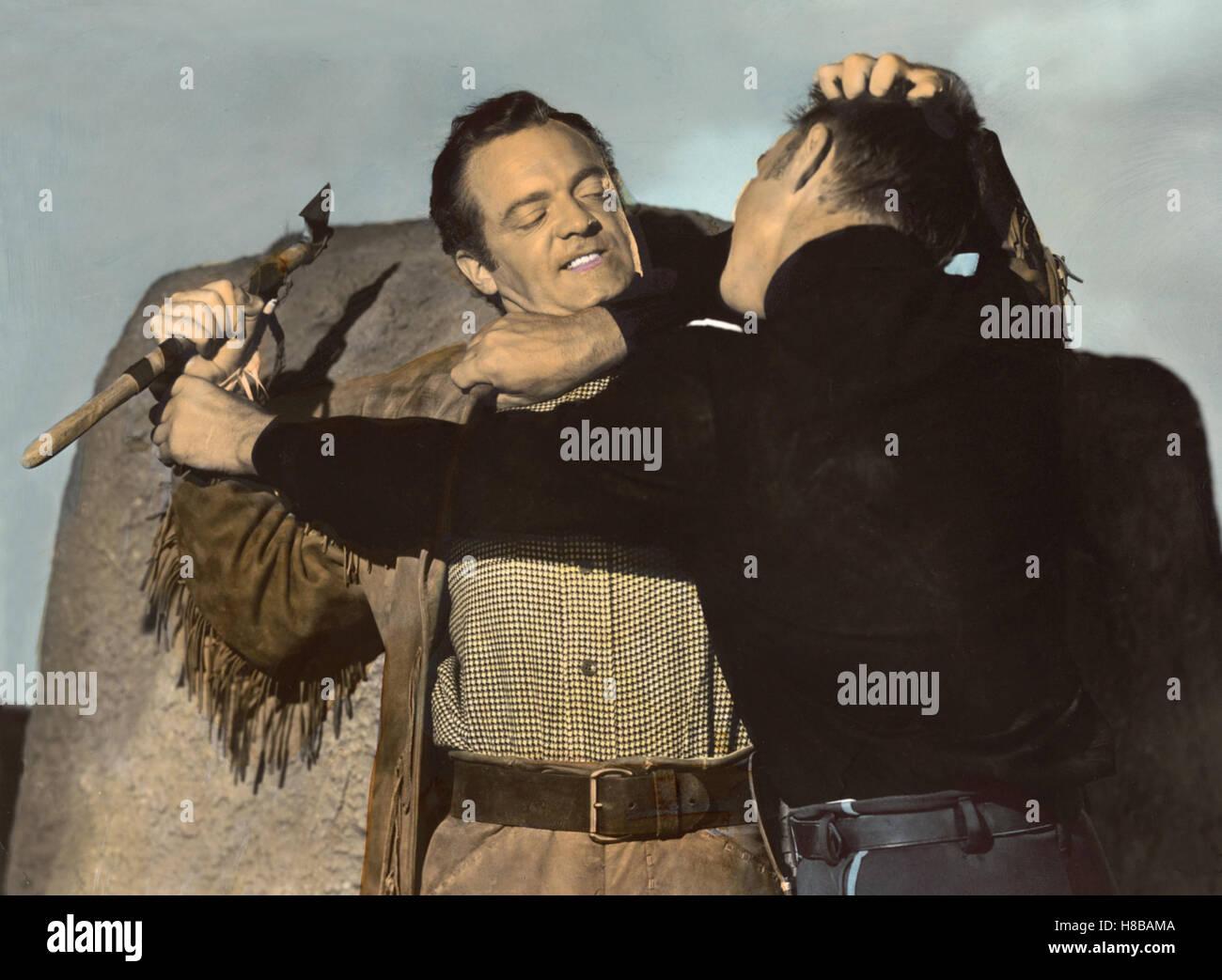 Tomahawk - Aufstand der Sioux, (TOMAHAWK) USA 1951, Regie: George Sherman, VAN HEFLIN,  ALEX NICOL; Key: Western, - Stock Image