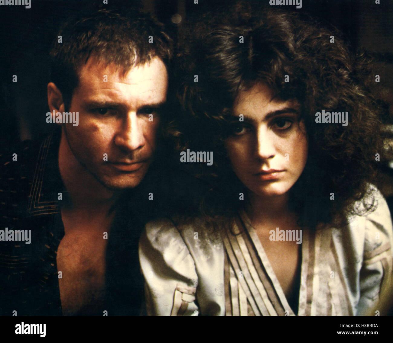 Blade Runner, (BLADE RUNNER) USA 1982, Regie: Ridley Scott, HARRISON FORD, SEAN YOUNG - Stock Image
