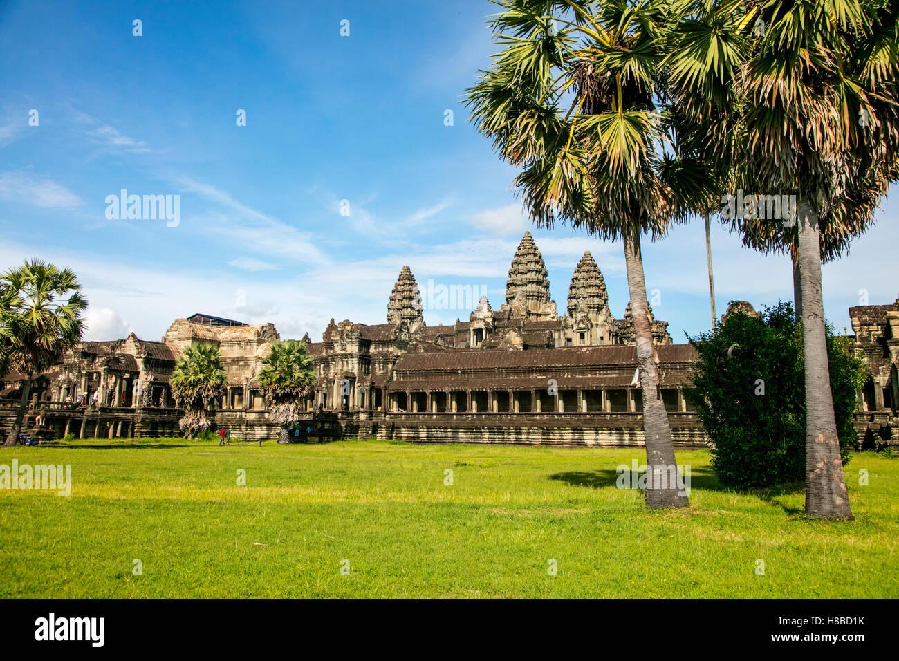 Angkor Wat, Angkor, Cambodia - Stock Image