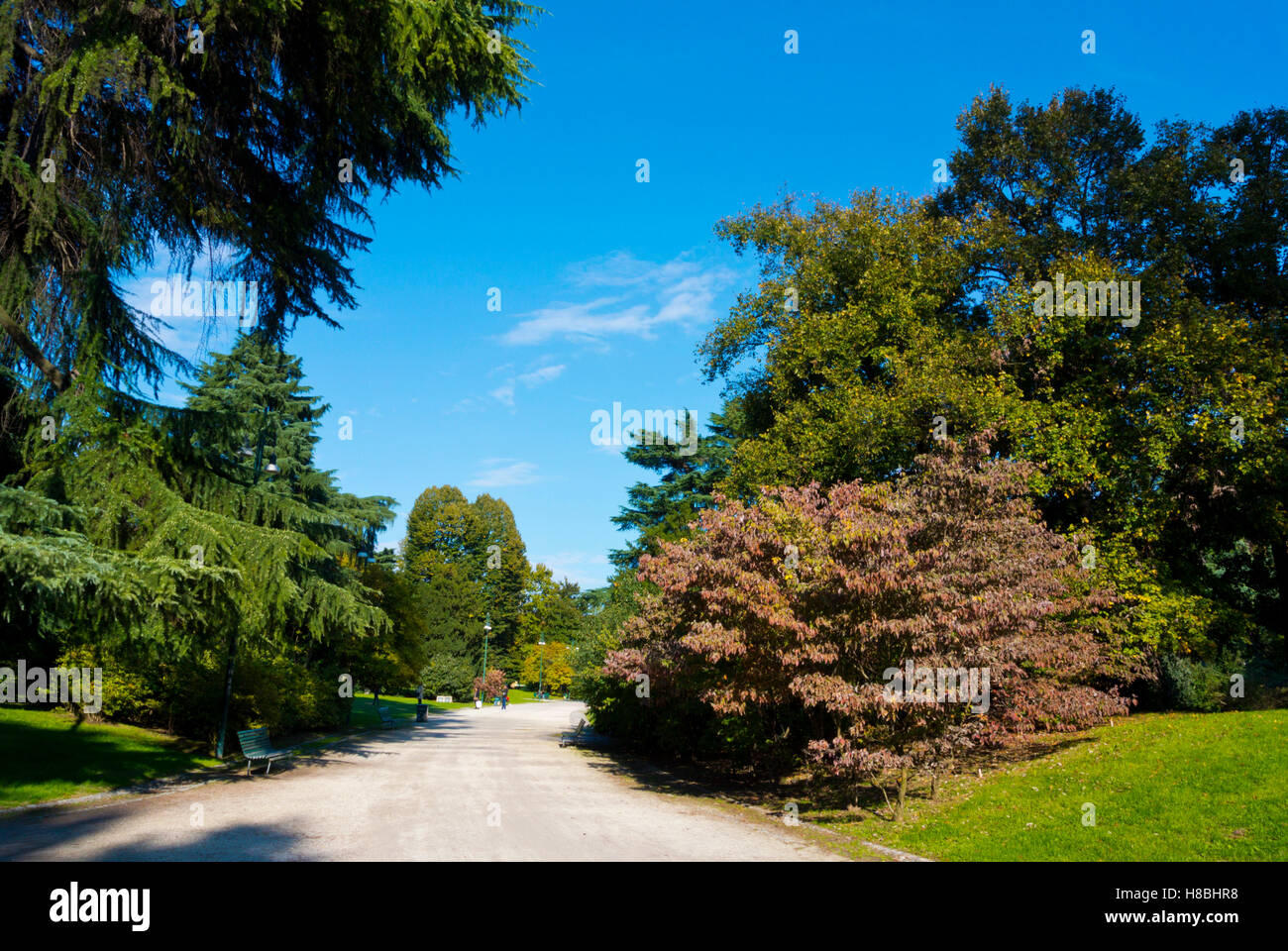 Parco Sempione, Milan, Lombardy, Italy - Stock Image