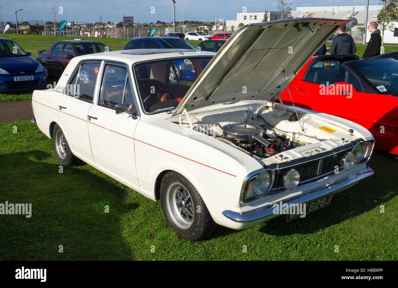classic ford cortina stock photos classic ford cortina. Black Bedroom Furniture Sets. Home Design Ideas