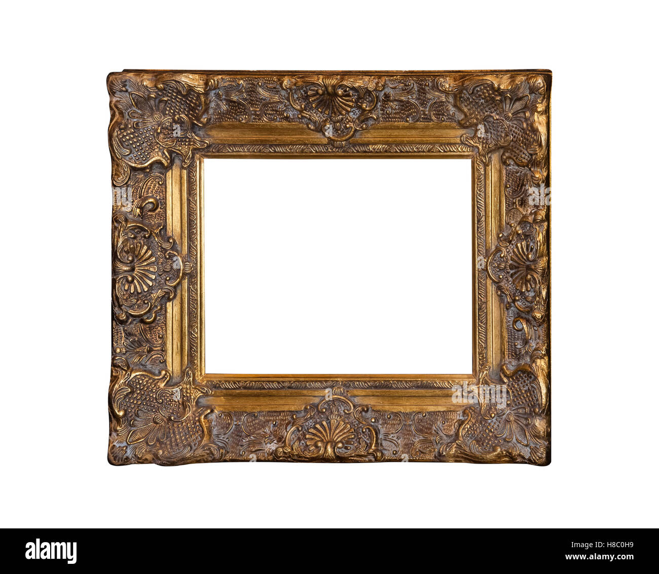 Classic painting canvas frame isolated Stock Photo: 125653733 - Alamy