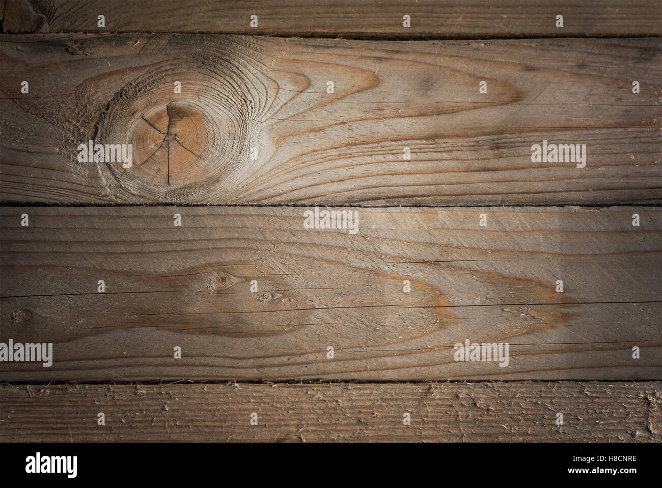 Image of natural wood planks. Background with copy space. - Stock Image